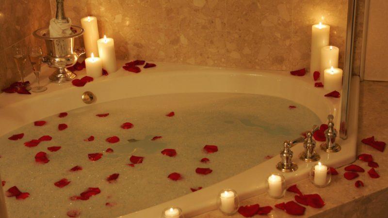 Kąpiel, która zmywa stres