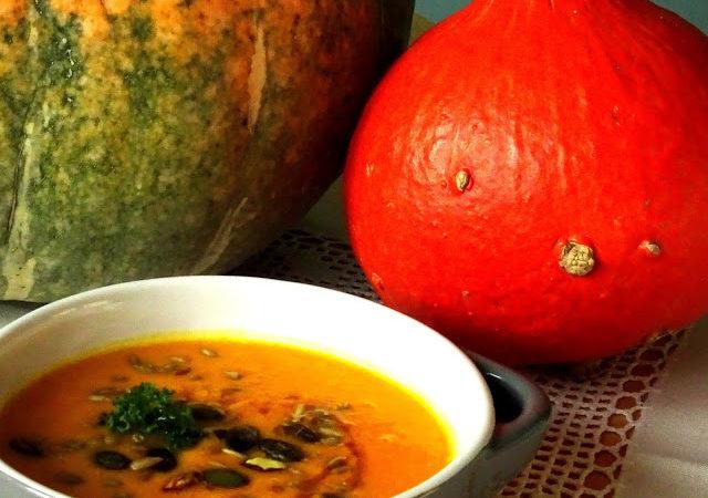 Zupa z dyni i soczewicy
