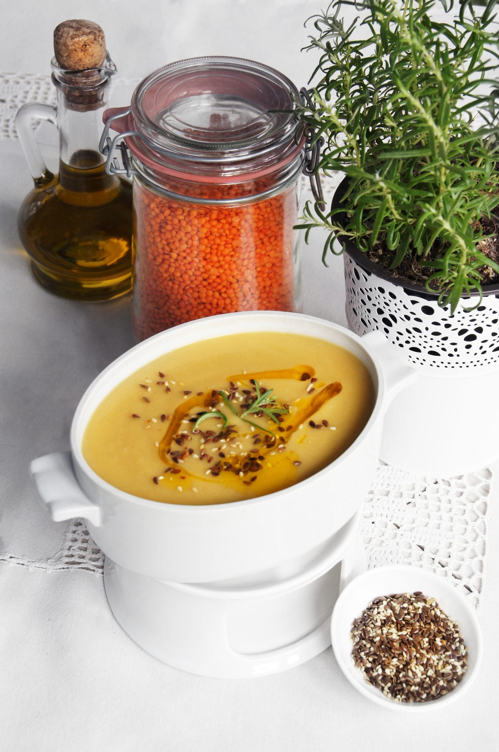Turecka zupa z soczewicy